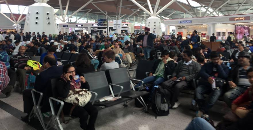 インドで飛行機に乗り遅れそうになったら