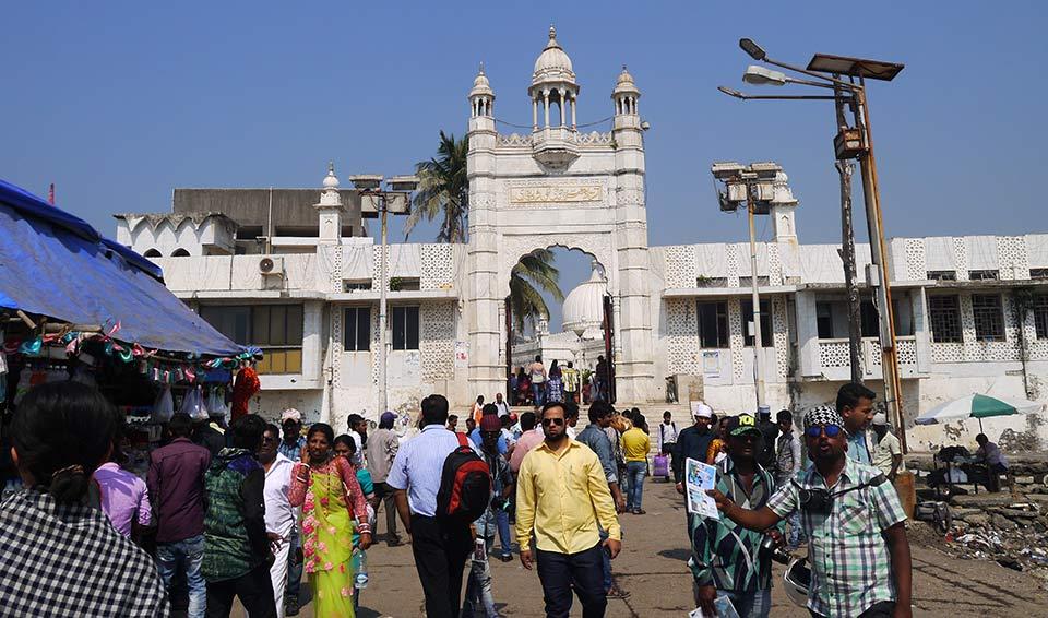 ムンバイのハジアリ霊廟