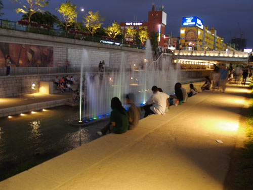 2006韓国ソウルの旅-3 清渓川(チョンゲチョン)