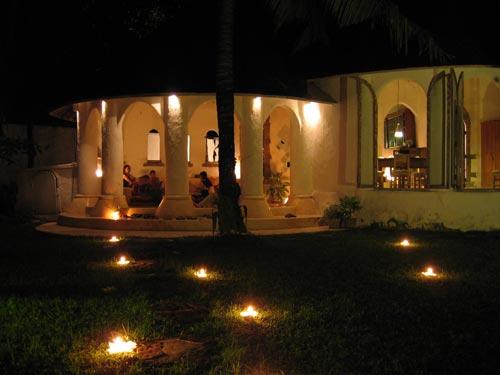2006年バリ旅。Dinner Party@Villa Buran