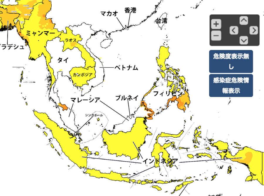東南アジア危険情報