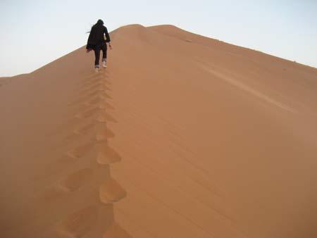 メルズーガの砂漠 3~全行程ラクダの旅も終了。フェズを目指す