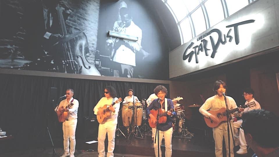 Nicoのライブにトラベルギターで参加