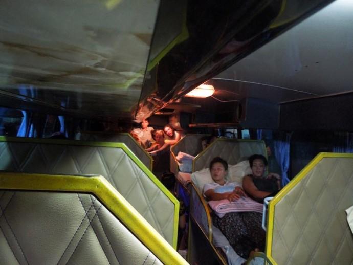 ラオスで寝台バス初体験。首都ビエンチャン発・古都ルアンパバーン行き
