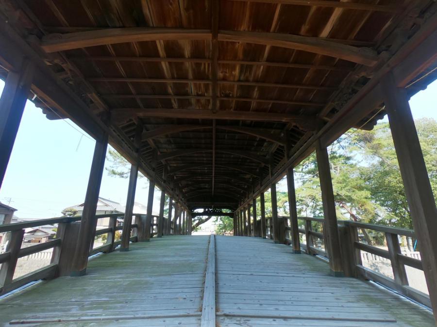 琴平の鞘橋