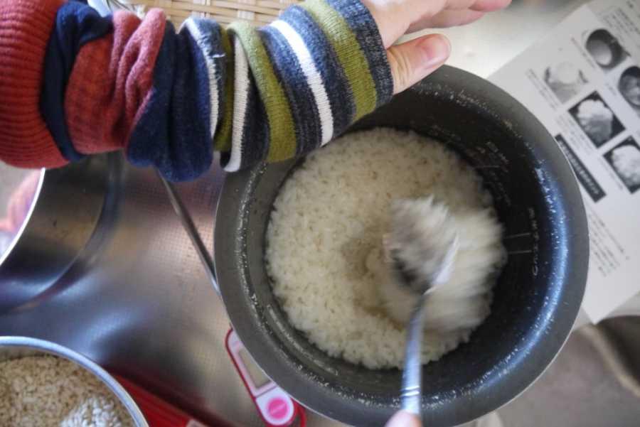 麹甘酒の作り方