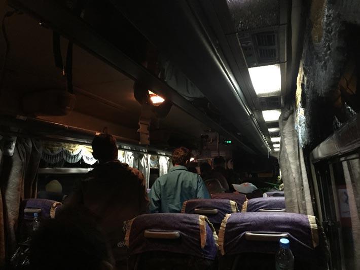 モウラミャインからベイへバス移動