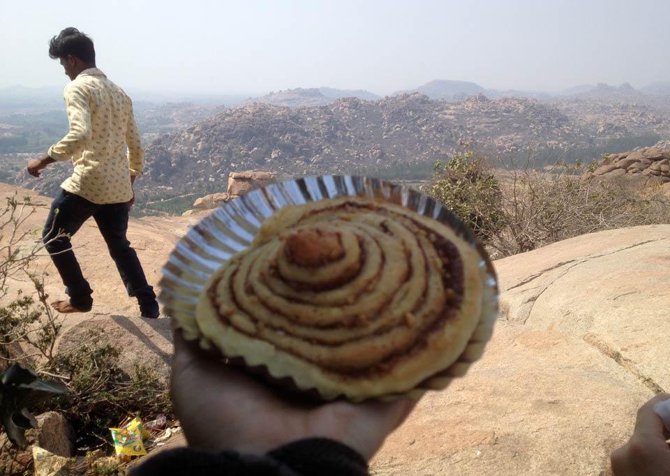 インド ハンピ ハヌマーン寺