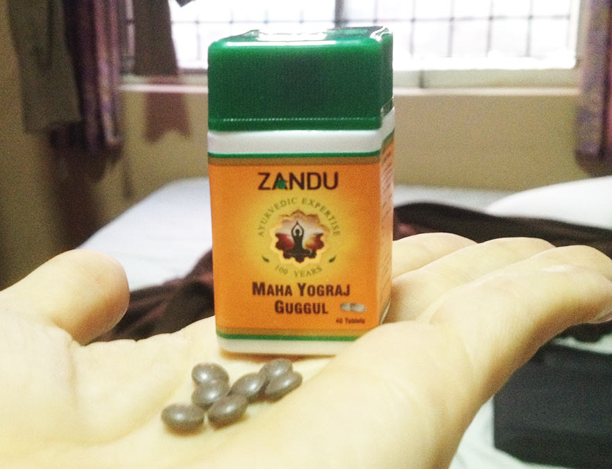 インドで買ったアーユルヴェーダの薬など
