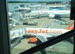 ロンドン→パリは格安航空会社「easyJet」を利用