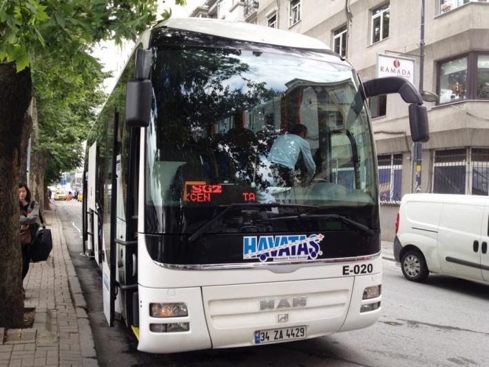 イスタンブール市内~サビハ・ギョクチェン空港への移動