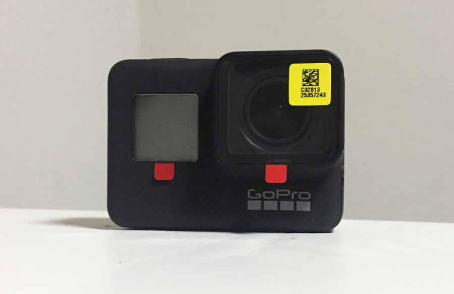 GoPro Hero7 Black返品→交換品の外観