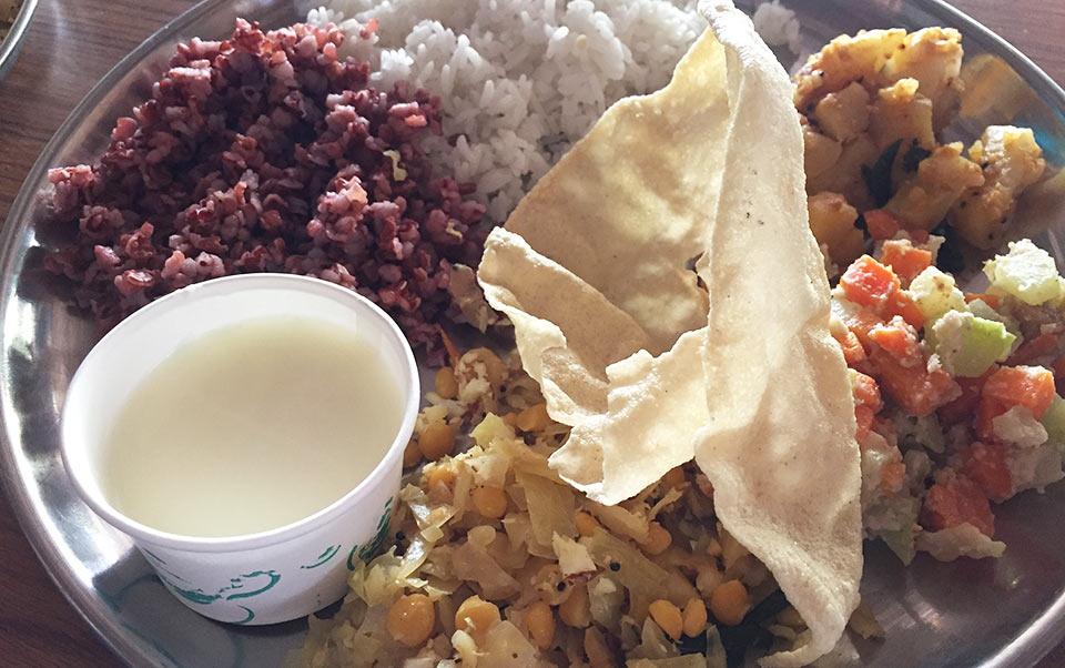 ベジタリアン向けインド料理