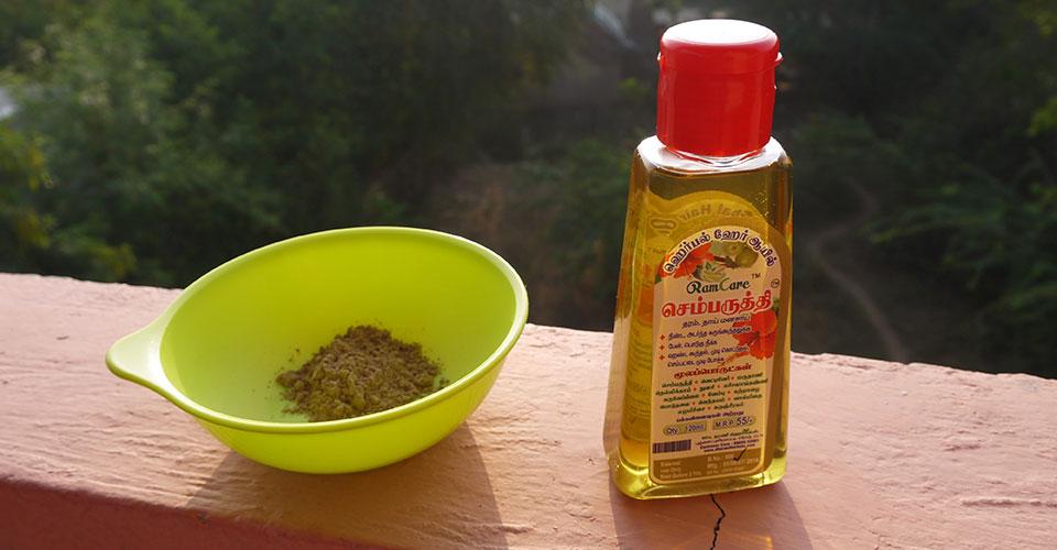 ハーバルヘアオイル