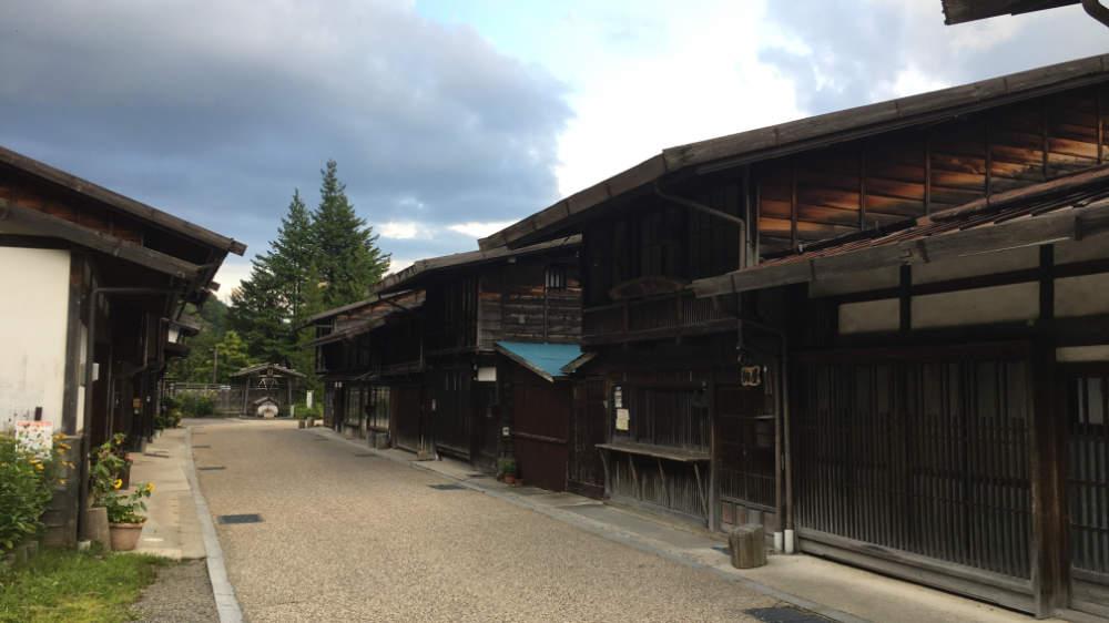 木曽・奈良井宿