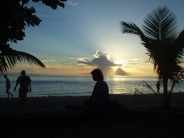 タイ旅2004。タオの海にドヴォン