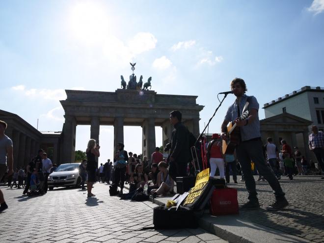 ベルリン街歩き。現地在住のイラストレーター夫妻にお世話になる