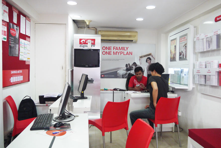 インドでAirtelのSIMカード購入