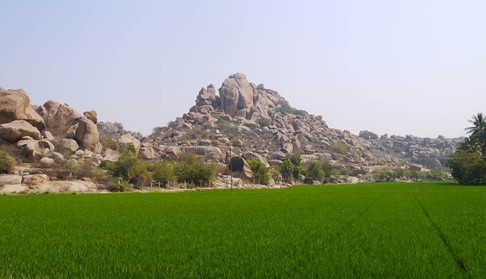 インドのハンピでの写真