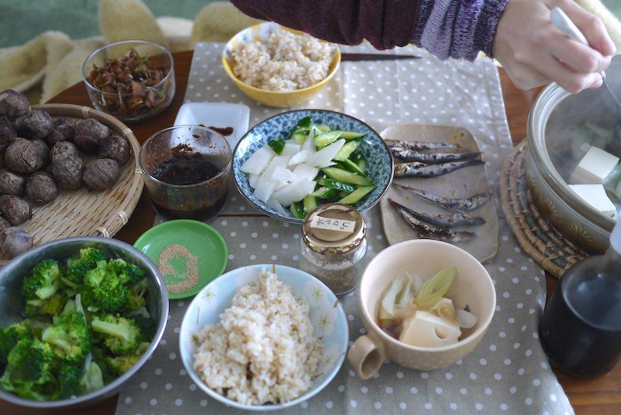 ご飯と食卓