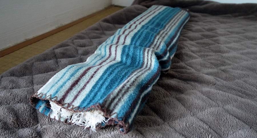 平床寝台睡眠