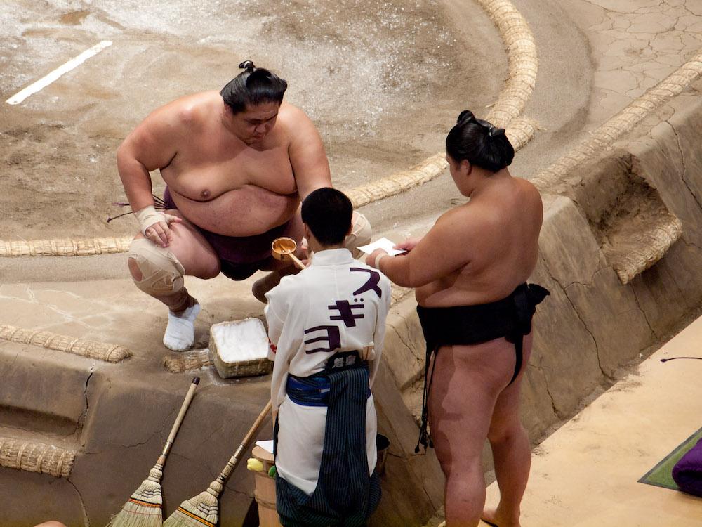 相撲 力水