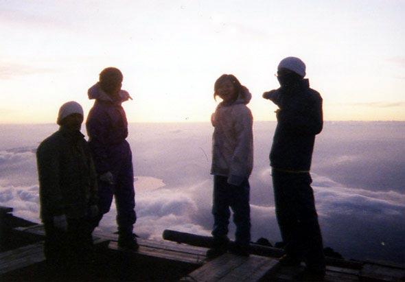 富士登山 2005