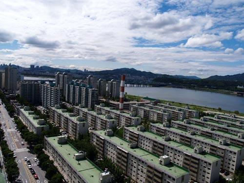 韓国ソウルの旅-1 住宅地