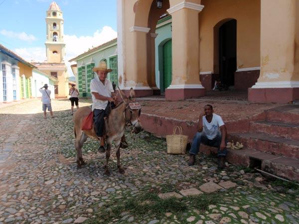 トリニダー。時間が止まったようなキューバの町