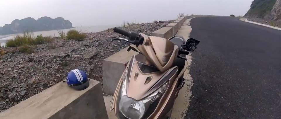 カットバ島バイクツーリング