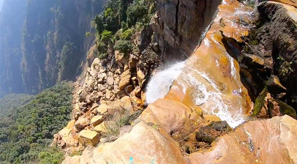 ワカバの滝