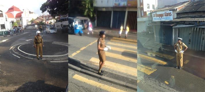 コロンボの交通整理警官