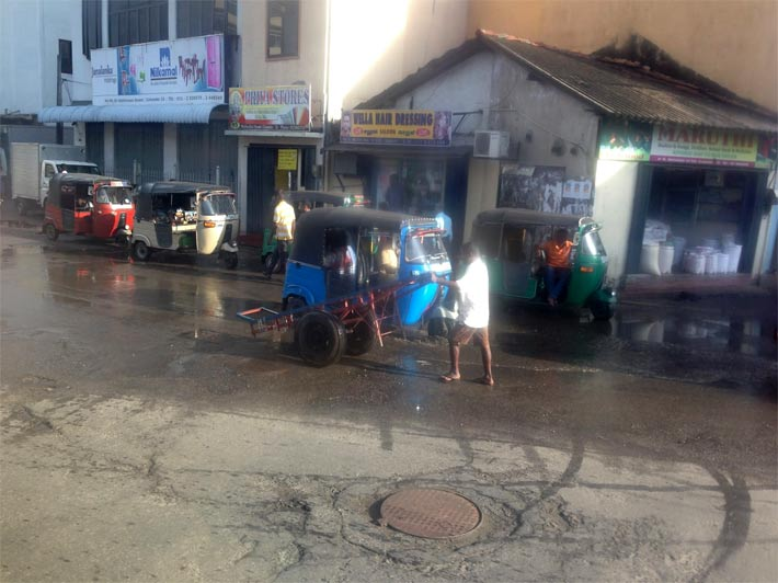 コロンボの町の印象