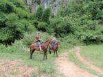 ビニャーレスの谷。馬に乗って洞窟へGO!