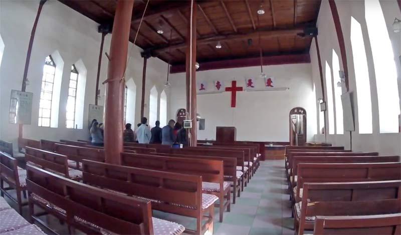 大理のキリスト教会