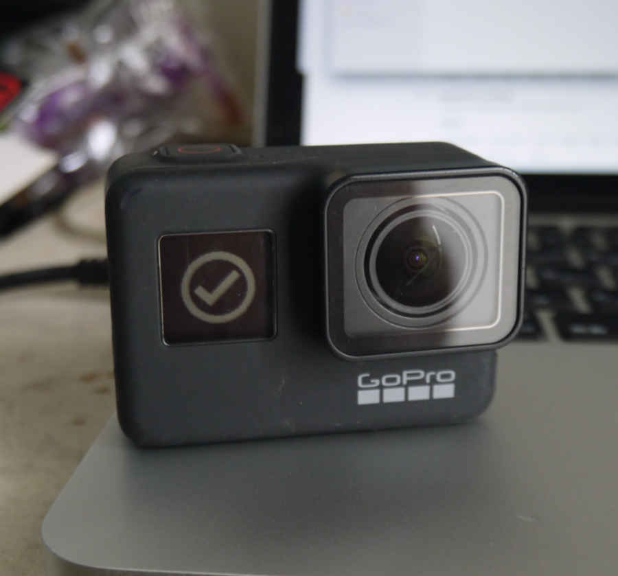 GoPro手動アップデートの様子