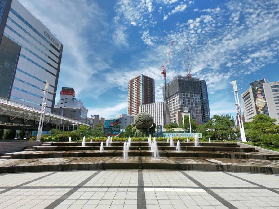 GoProスーパーフォト作例(浜松駅前)