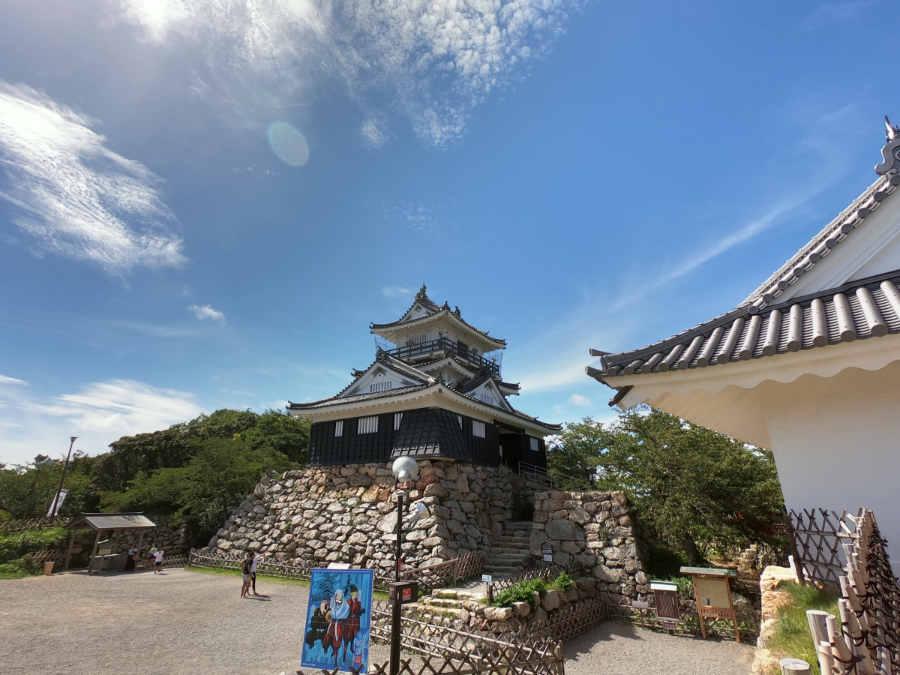 GoProスーパーフォト作例(浜松城遠景)