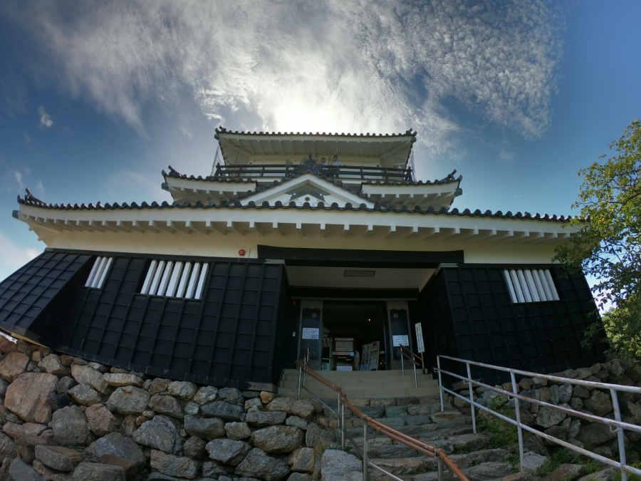 GoProスーパーフォト作例(浜松城)