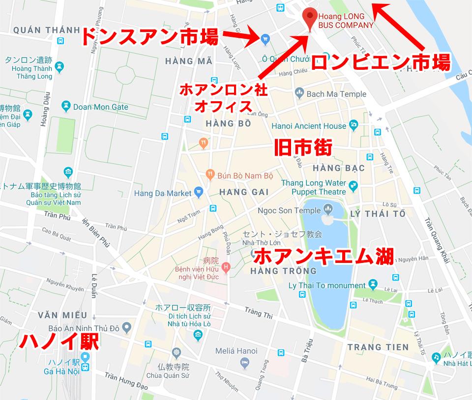 ハノイ地図