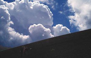 富士登山2007。御殿場口から頂上へ