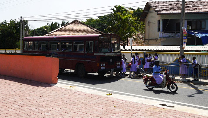 ジャフナへの列車