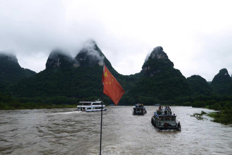 桂林 漓江の川下り