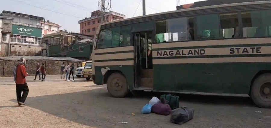 ナガランド州のバス