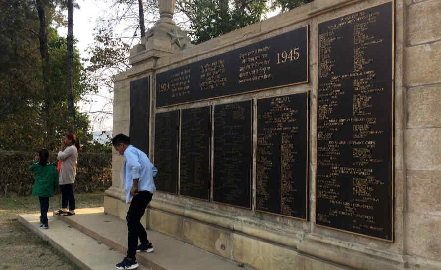 コヒーマ・ガリソン丘戦没者墓地