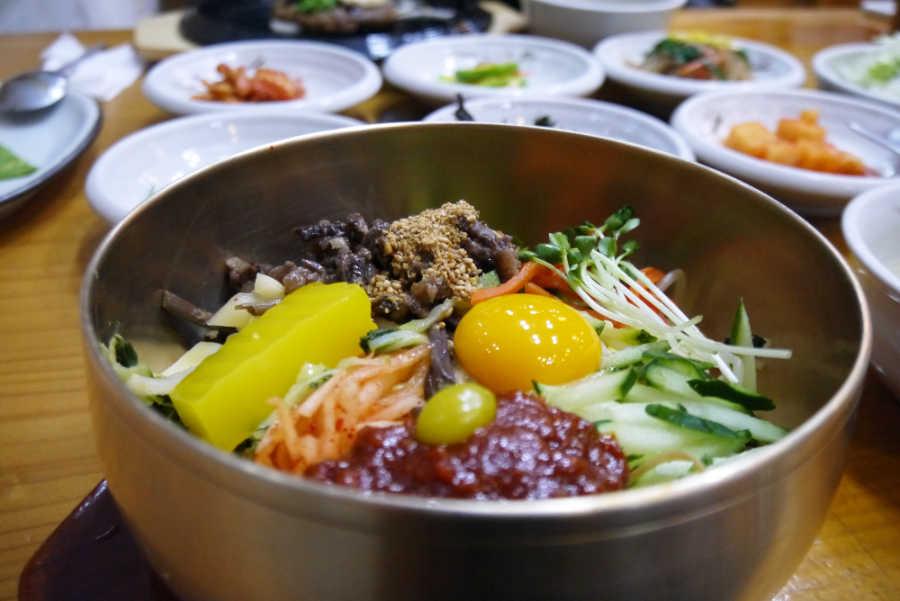 韓国全州のグルメ ビビンバ