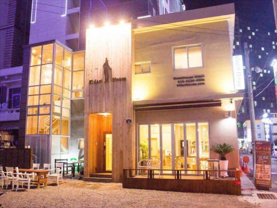 韓国釜山のゲストハウス