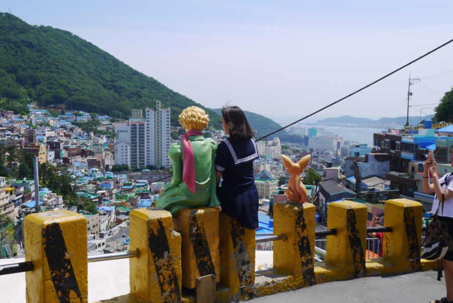 韓国釜山 甘川文化村