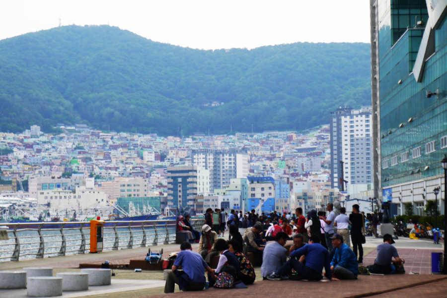 韓国釜山 ジャガルチ市場