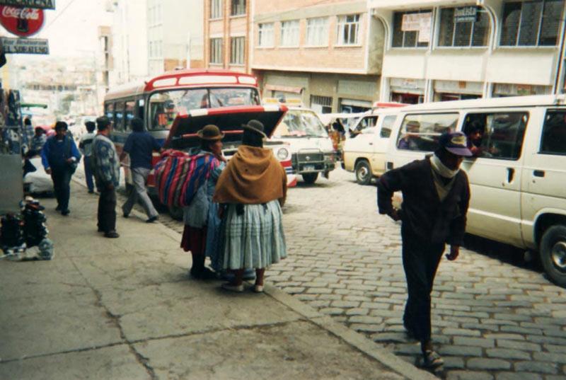旅の思い出 ~ ボリビア・La Paz で偶然の出会い